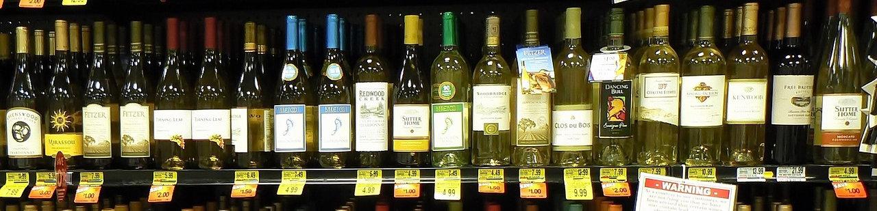 choix d'une bouteille de vin
