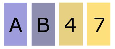 cartes A B 4 7